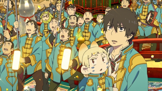 AnimagiC 2014 - Animotion-Filmfestival - Blue Exorcist - The Movie